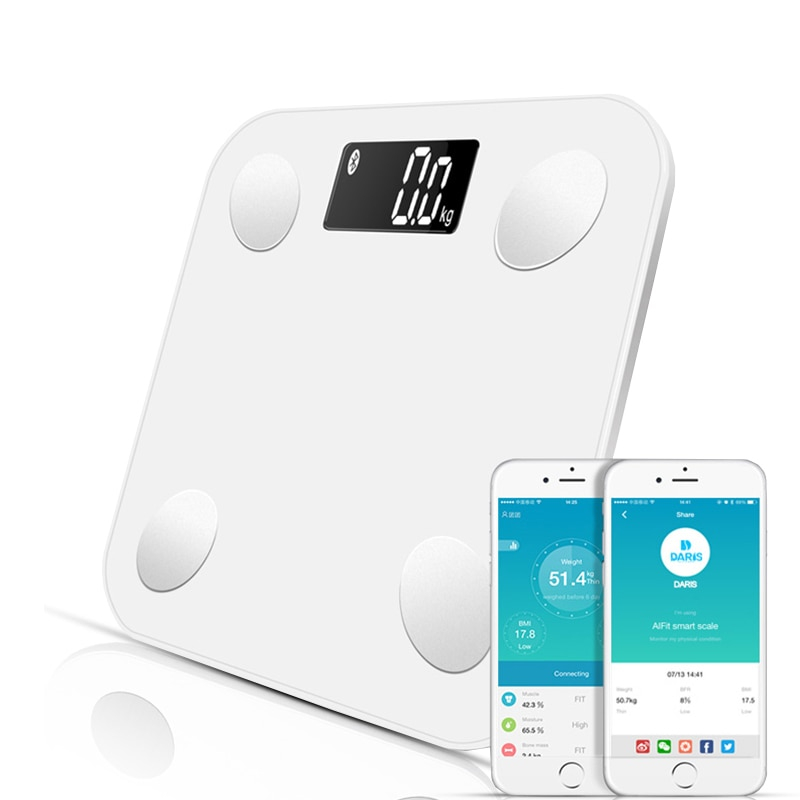 Bluetooth Smart Scale in White