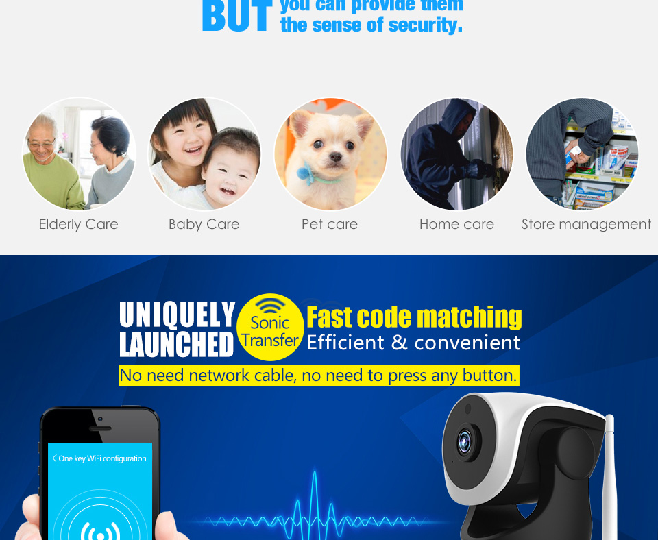 Wireless Motion Detecting Baby Monitor