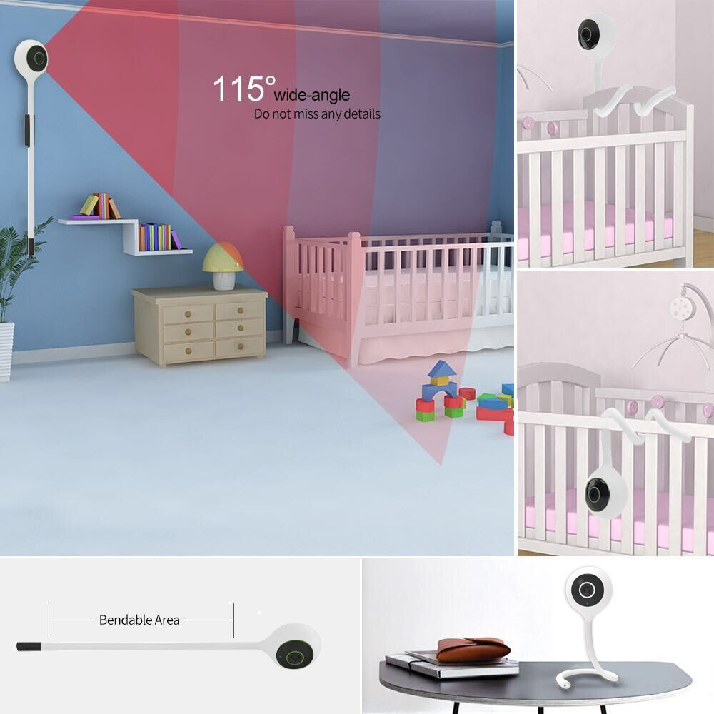 Mini Baby Monitor with Temperature / Humidity Detect