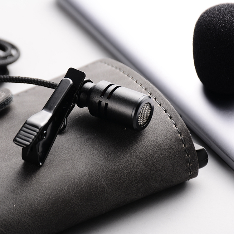 Mini Metal Microphones with Clips