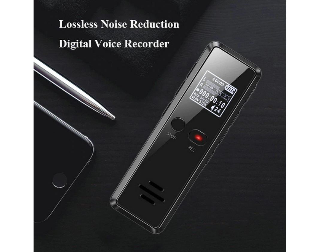 Noise Reduction Voice Activated Audio Recorder