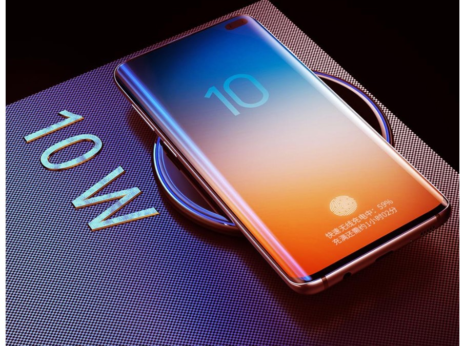 Glossy Design Wireless Phone Charger