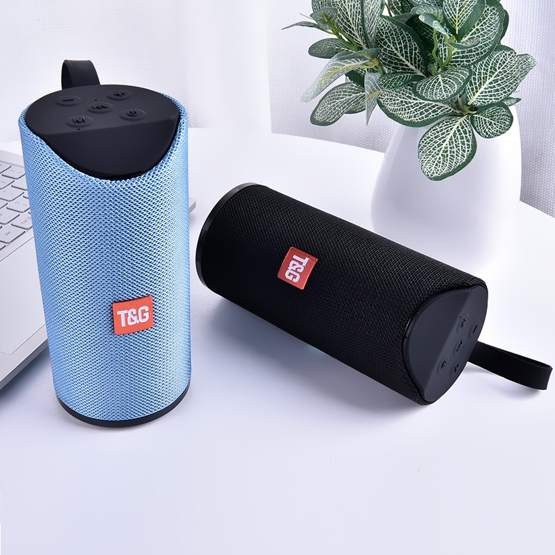 Portable Bluetooth Speaker with FM Radio