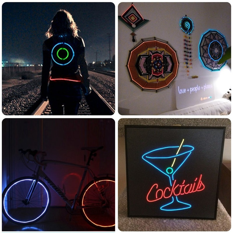 Flexible Neon Strip Lighting