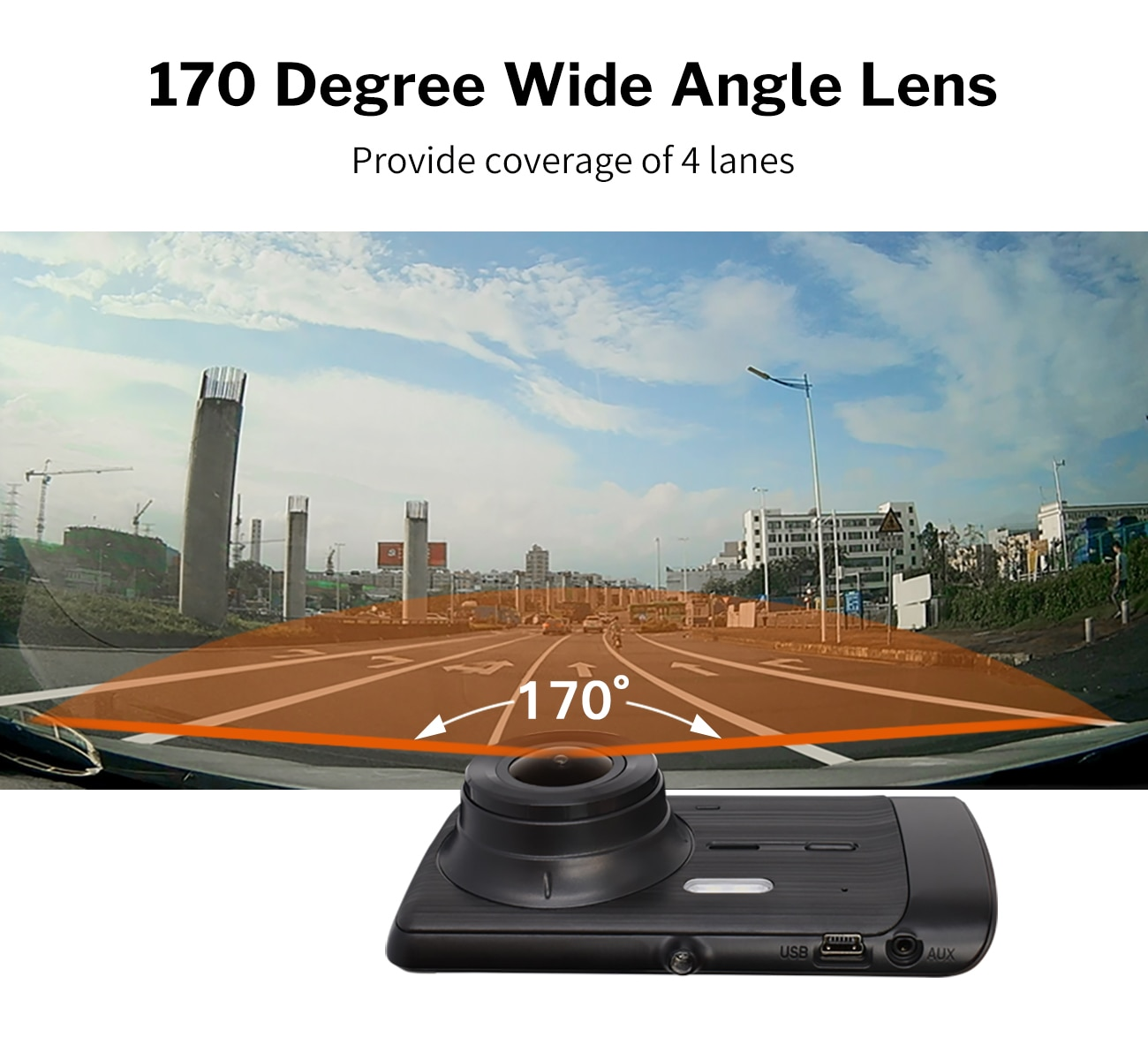1080P Dash Camera for Cars