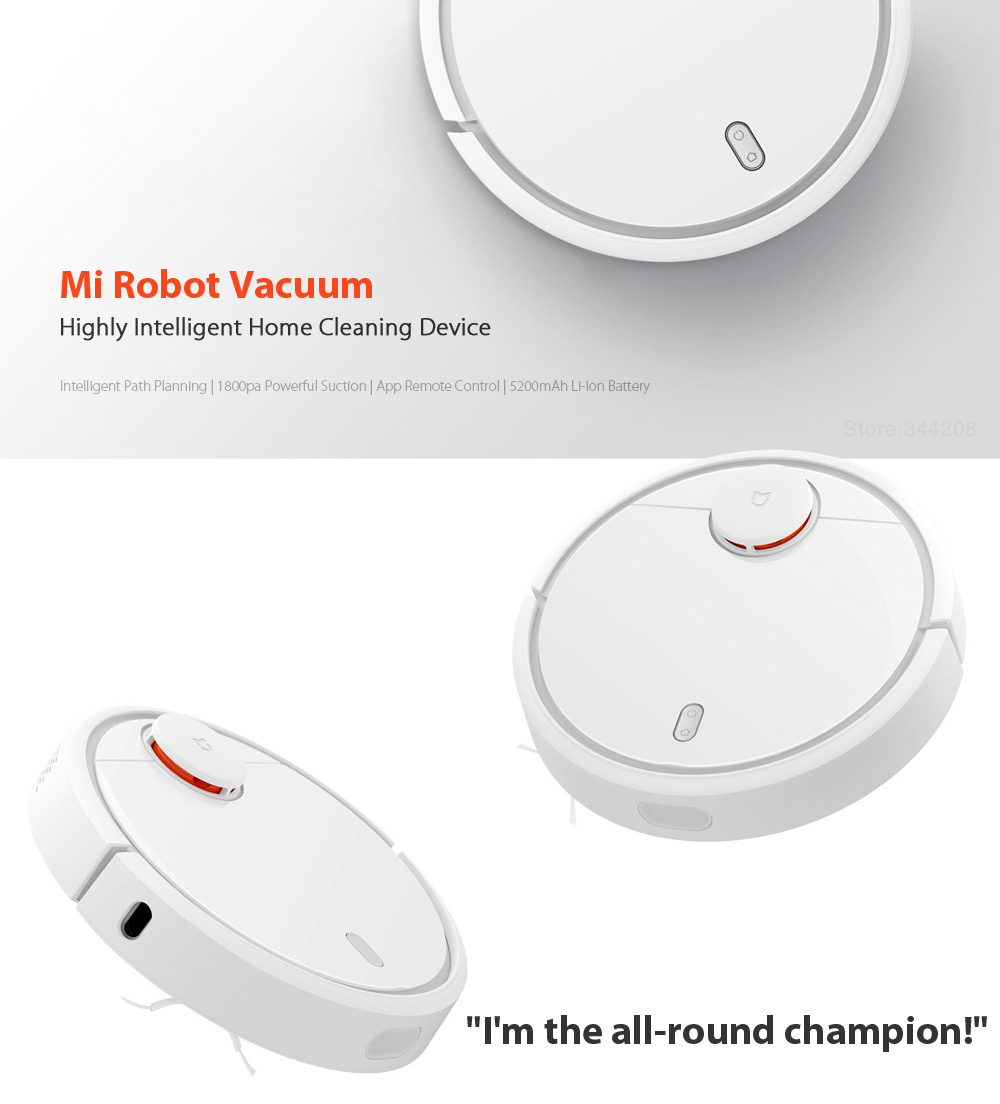 Automatic WiFi Vacuum Cleaner Robot