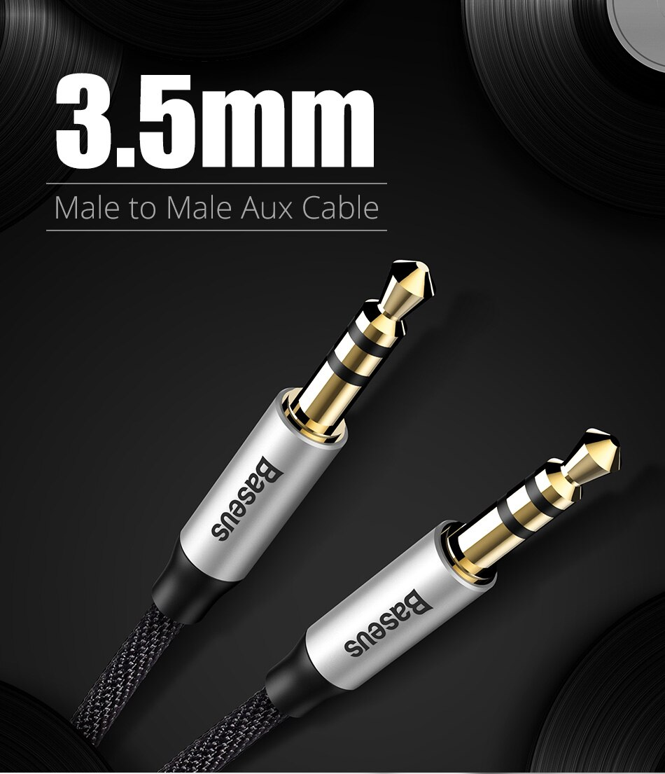 3.5 mm Jack Aux Cable for Speaker / Headphone