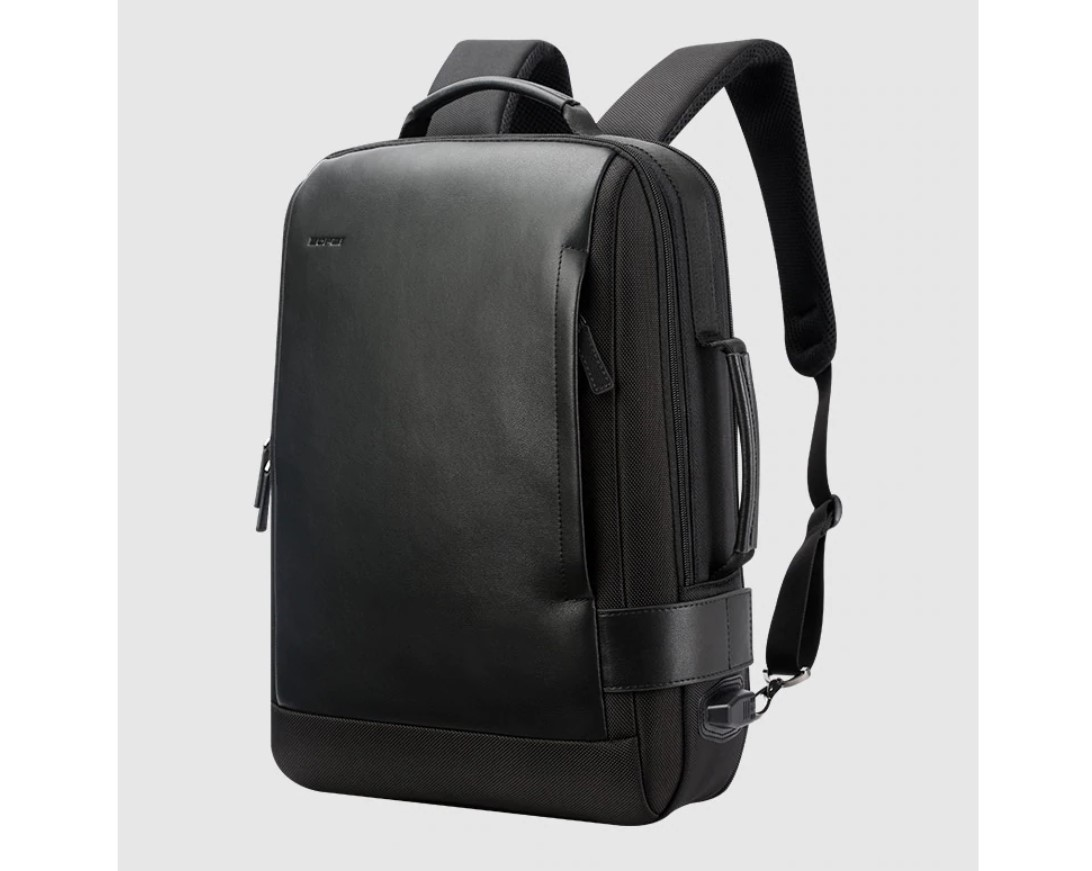 Men's Waterproof USB Backpack with Data Cable