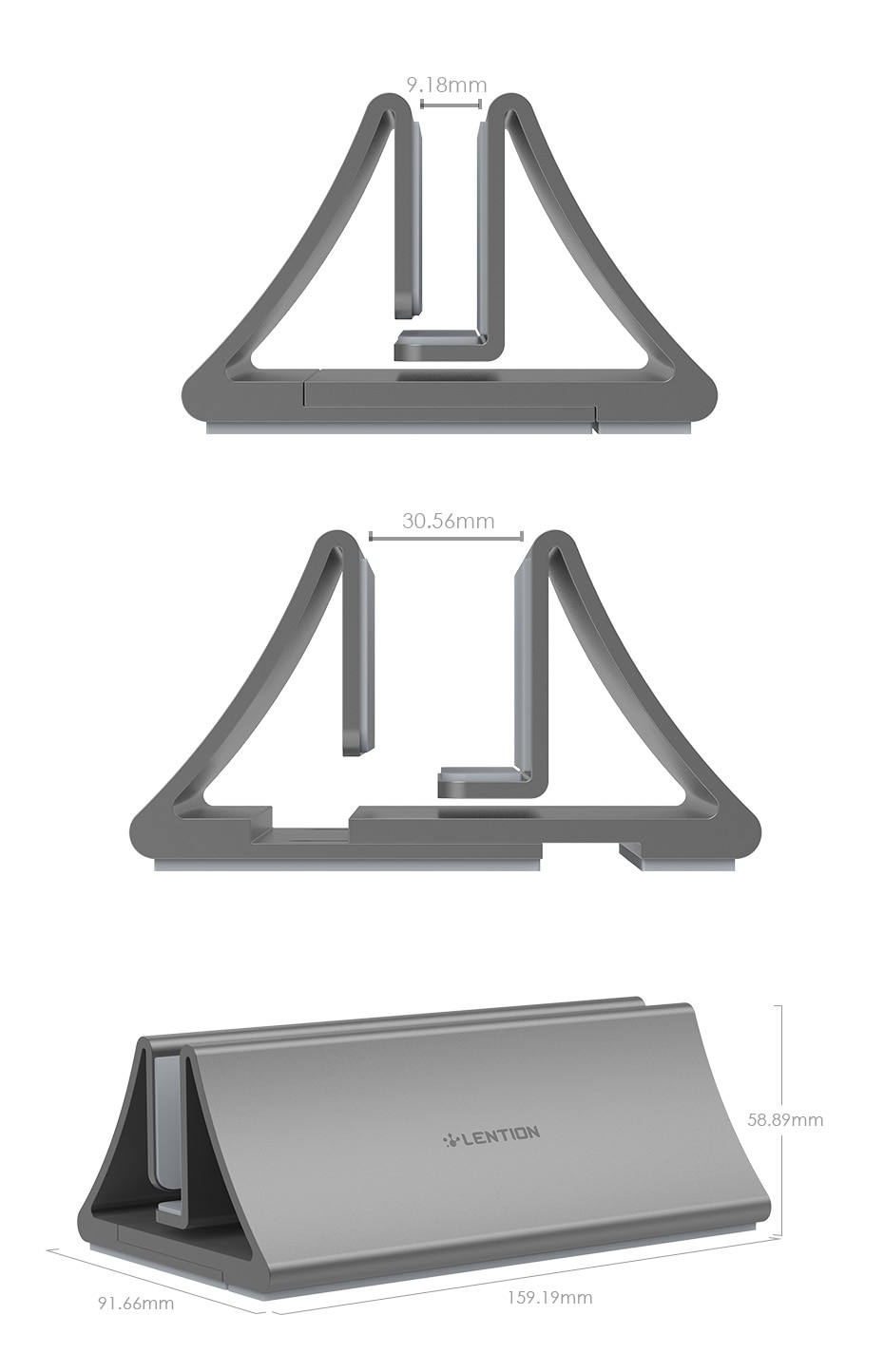 Aluminum Tablet Desktop Stand