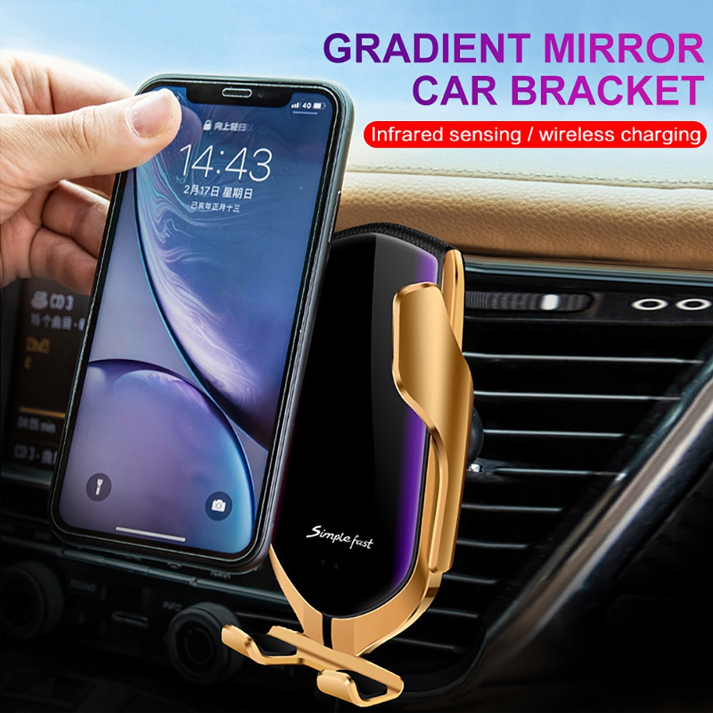 Automatic Car Vent Wireless Charger