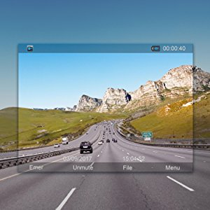 1080P FHD Built-in WiFi with APP Dash Camera