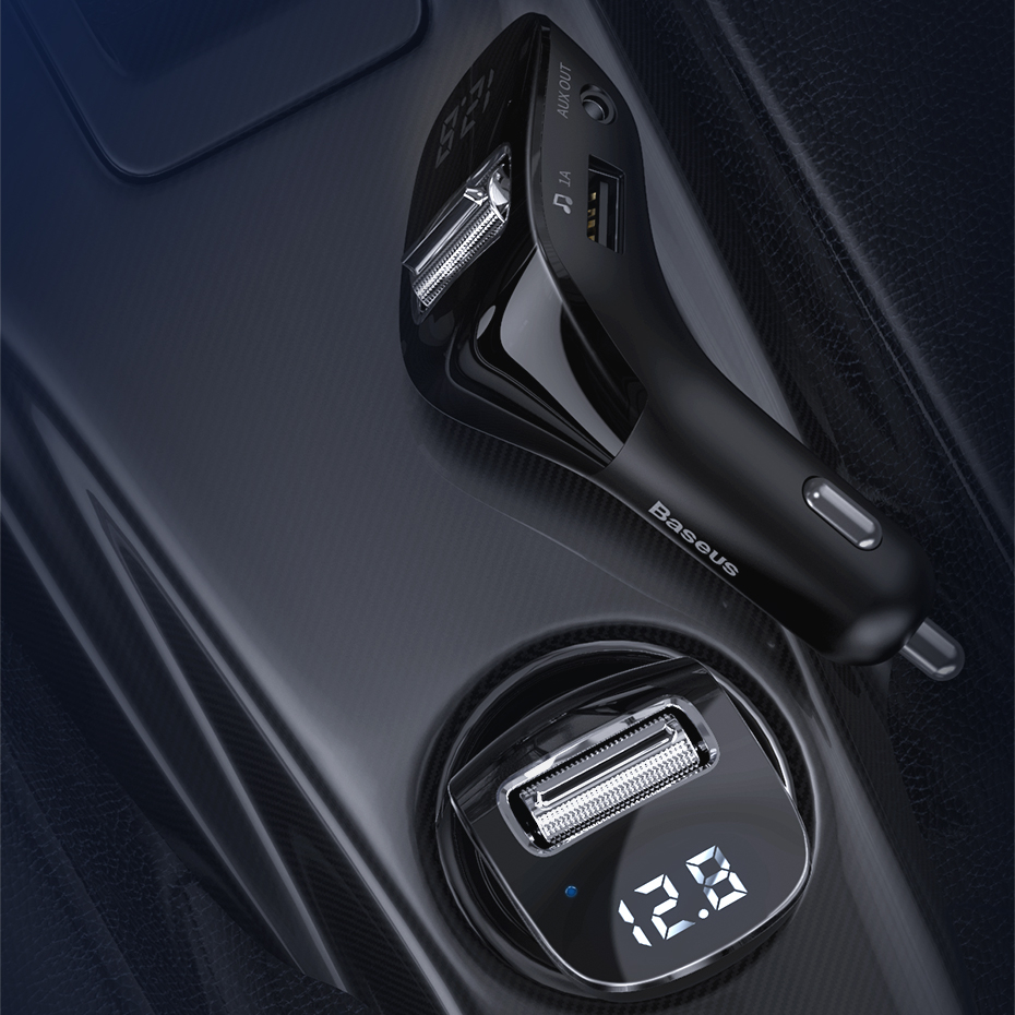 Bluetooth Car Adapter and USB Charger
