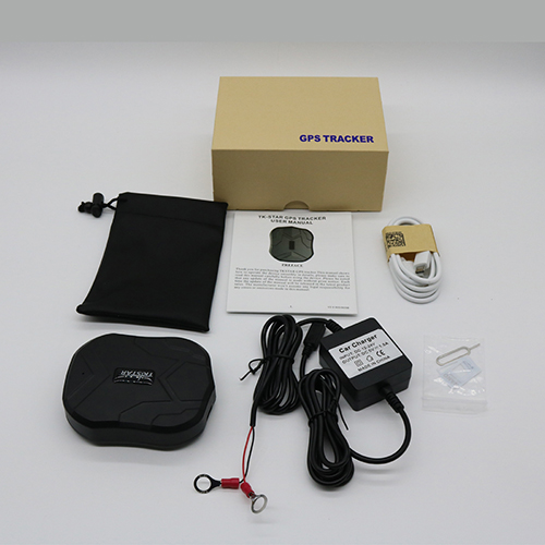 Tracker with Box and Charger