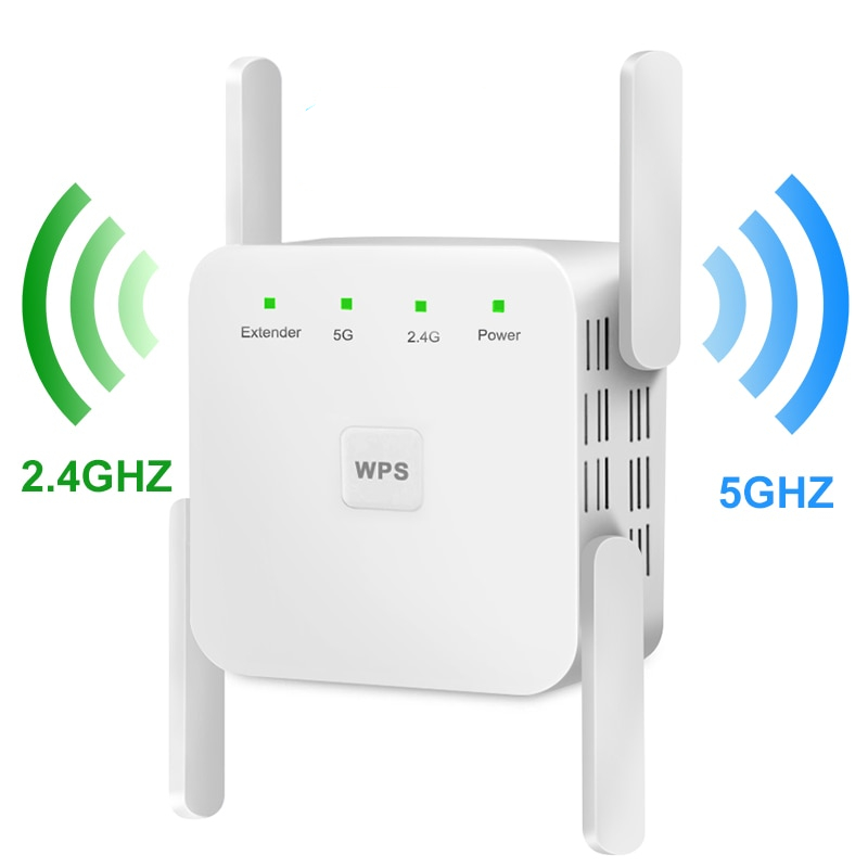 2.4G and 5G Home WiFi Repeater