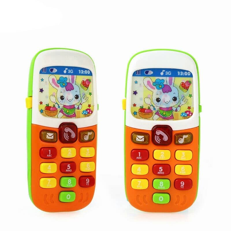 Electronic Educational Musical Phone Toy