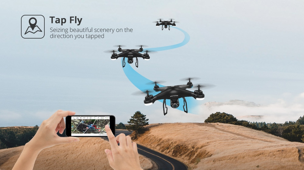 Remote Controlled Metal Drone with Camers