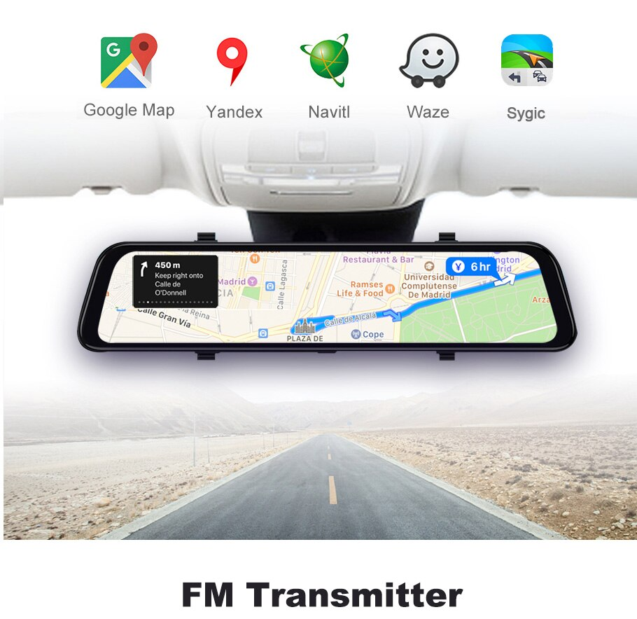 Touch Screen Dash Camera for Cars