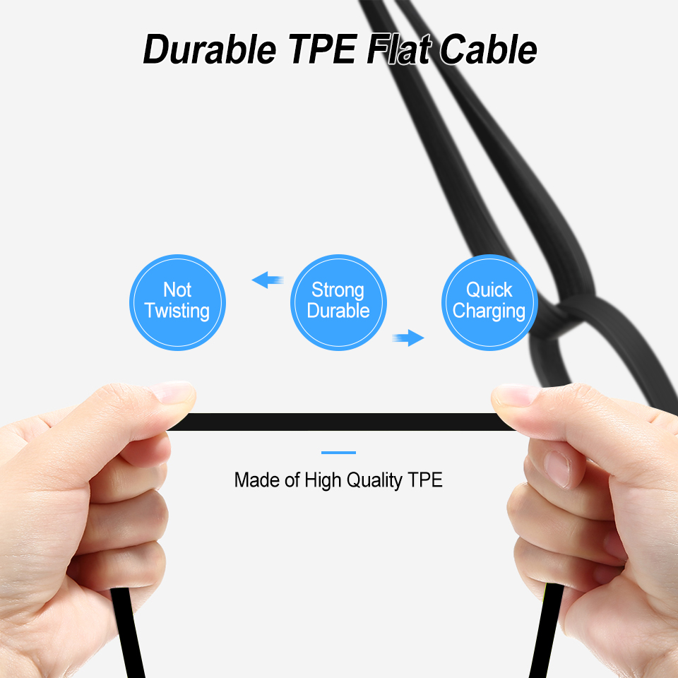 Portable Retractable Phone Cable