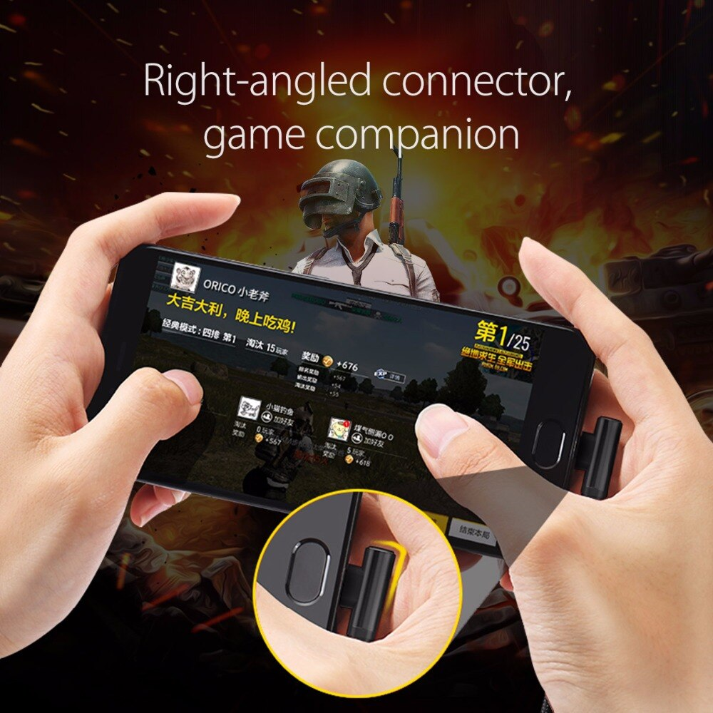 3 in 1 Gamer Friendly Interface USB Cable for Mobile Phones