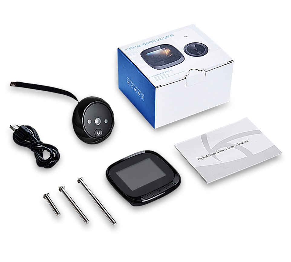 Electronic Doorbell Camera with Night Vision