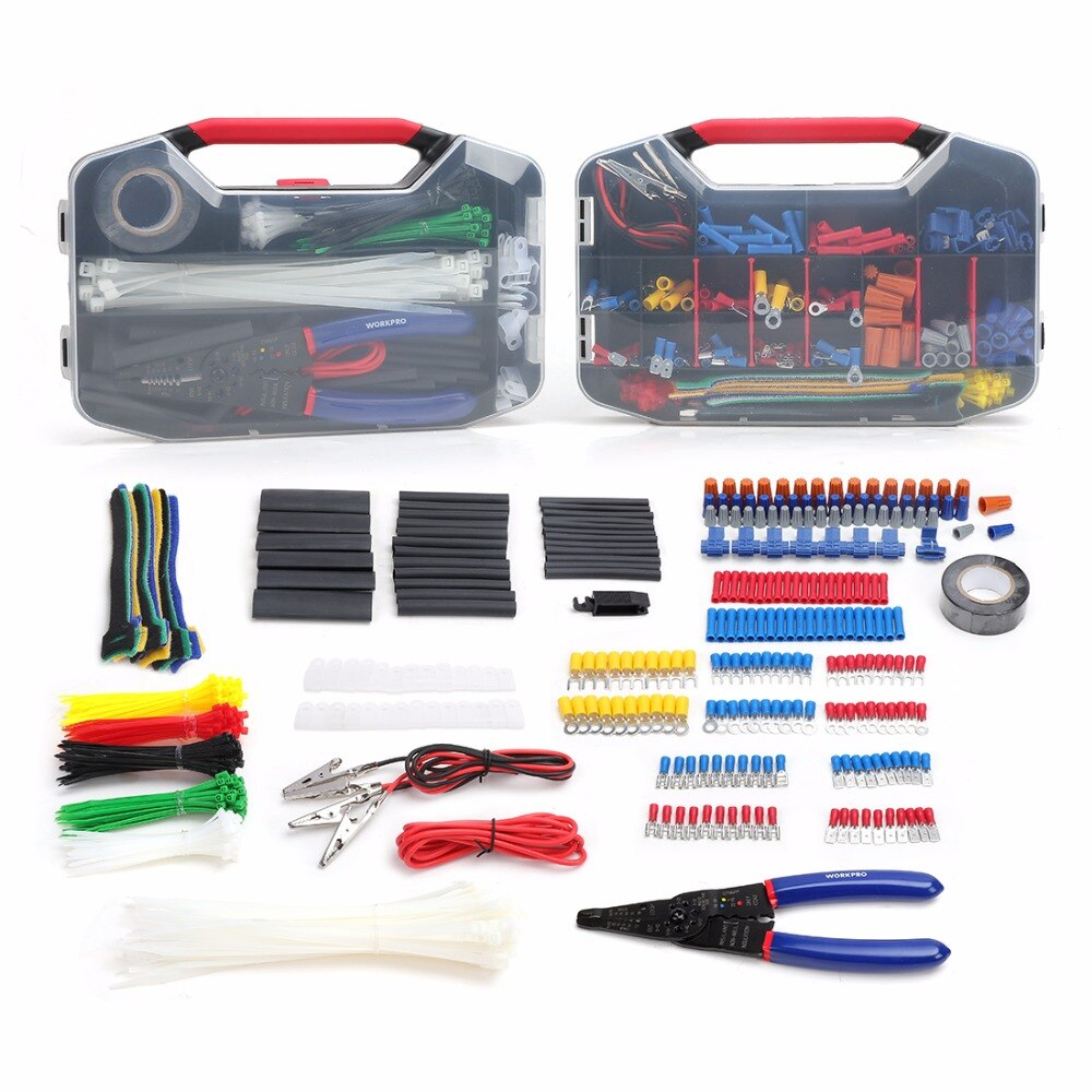 Electrical and Network Tool Kit with Wire Stripper Set