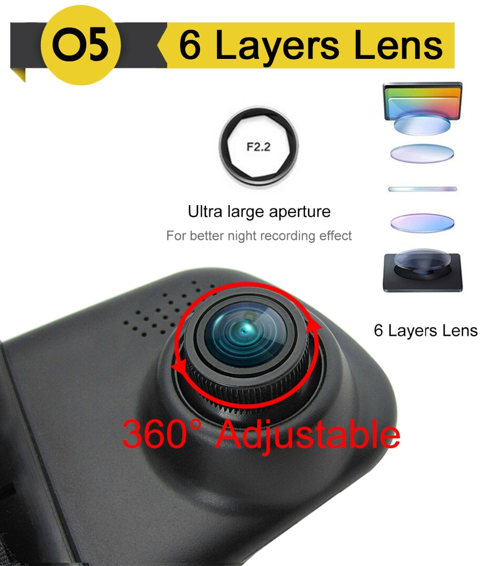 Full HD Universal 1080p Dash Camera for Cars