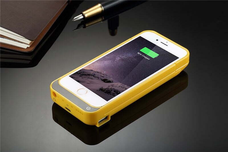 4200mAh USB Battery Charger Case for iPhone 5 5C 5S SE
