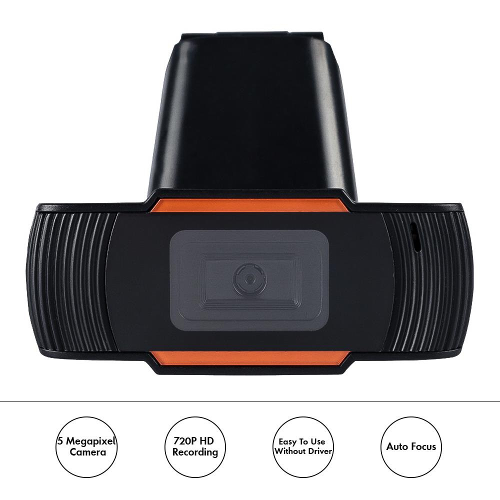 720P HD USB Camera with Microphone