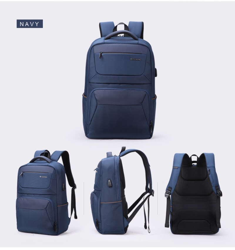Waterproof Men's Travel Bags with USB Ports